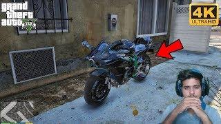 GTA 5 : FRANKLIN FOUND HIS STOLEN NINJA H2R(BALLAS GANG) 😡