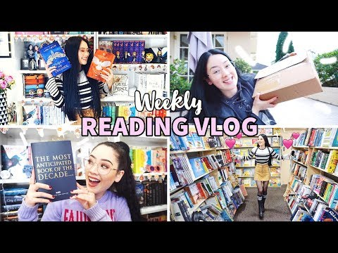 SO MANY EXCITING BOOKS & COME BOOK SHOPPING WITH ME✨Weekly Reading Vlog: 3-9 September