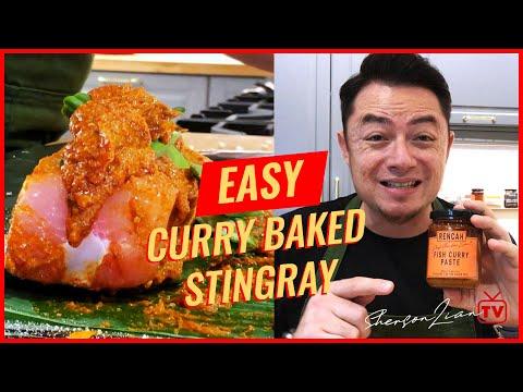 #RencahRecipes: Curry Baked Stingray