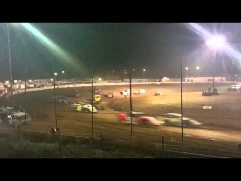 Abilene Speedway Modified A Main 2/20/16