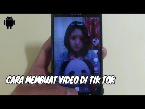 Cara Menggunakan Aplikasi Tik Tok Untuk Membuat Video Keren Youtube