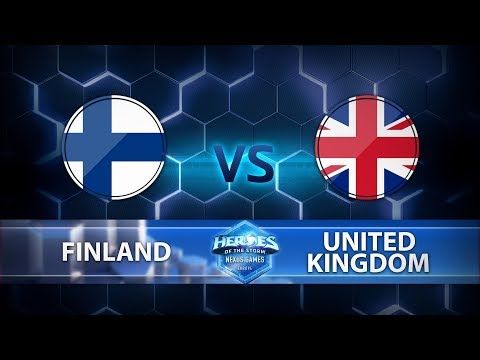 Nexus Games Europe - Group A Match 4 – Finland vs. United Kingdom - Game 3
