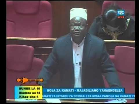 Tundu Lissu Vs Mwana Sheria Mkuu Bungeni