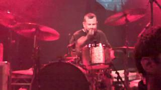 Cowbell Jam + Jean-Paul Gaster Drum Solo + Big News. Glasgow ABC 13th June 2011