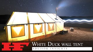 The Last Wall Tent You'll Ever Buy | ADVISOR INSIGHTS: White Duck Alpha Wall Tent