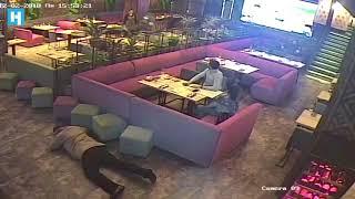 Задержание Михаила Саакашвили в ресторане