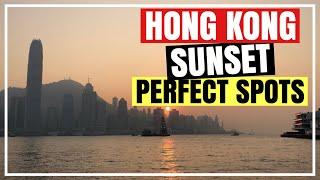3 FREE TOURIST SPOTS FOR HONG KONG VICTORIA HARBOUR VIEWS- Best Hong Kong Sunset Spots | Froi & Geri