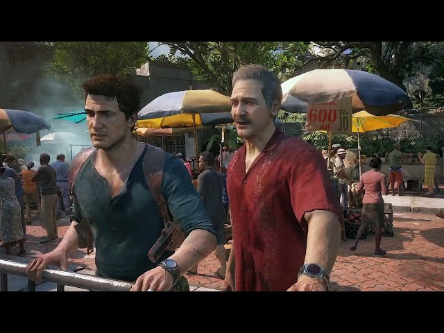 Uncharted 4 : A Thief's End - Trailer gameplay E3 2015
