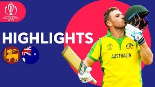 Sri Lanka vs Australia Match Highlights | ICC Cricket World Cup 2019