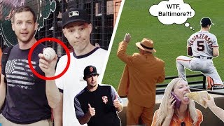 Mike Yastrzemski's 1st MLB home run and SO MANY WEIRDOS at Camden Yards