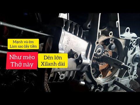 Cách lên dên future , xi-lanh 110 không rung rần cho xe wave | đinh Nguyễn 77.