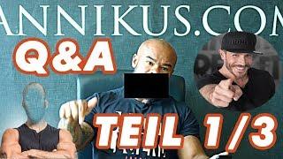 Q&A - Beef mit Simon?, der beste Booster, die zwei einzigen naturalen Fitness-YouTuber, ... 1/3