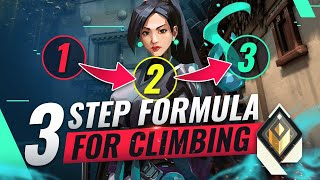 3-Step Formula That T๐ok Me From Bronze To RADIANT - Valorant