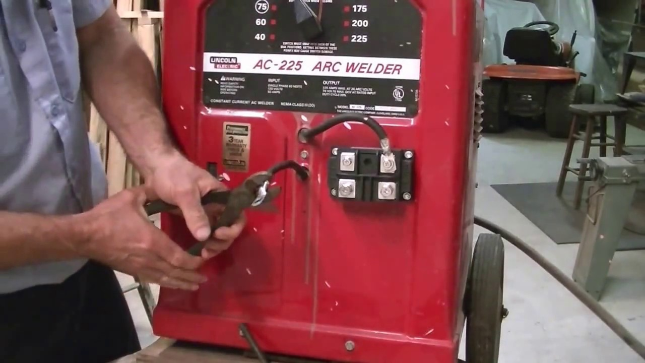 Convert your AC welding machine to DC for $50 Weld 7018