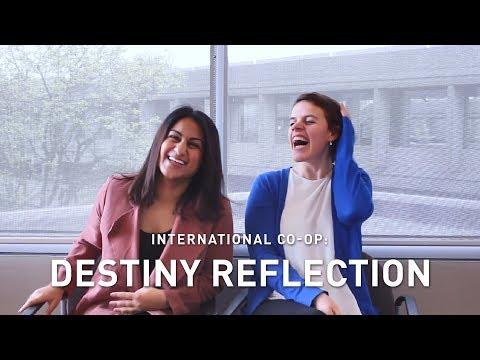 International Co-op: Destiny Reflection