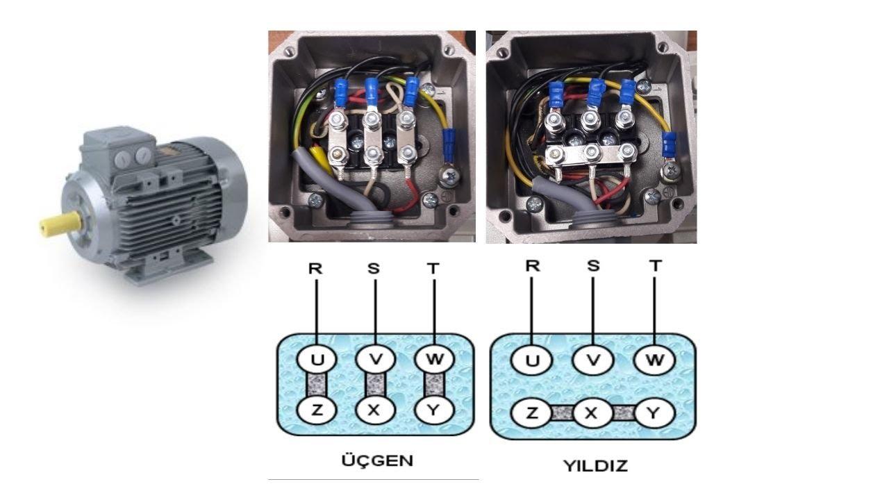 üç fazlı motoru tek fazla çalıştırma ev elektiriyle  trifaz motor çalıştırma