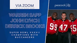 Warren Sapp John Lynch and Derrick Brooks Talk Hall of Fame More w Rich Eisen Full Interview