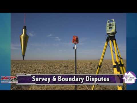 Survey & Boundary Disputes