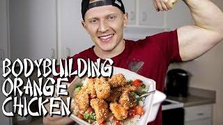 HOMEMADE BODYBUILDING CHINESE:  Crispy Orange Chicken