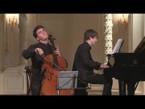 Rustem Khamidullin (cello) In English Hall Of St. Petersburg Music House 2016-08-17