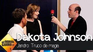 Romanticismo y sombras con Jandro y Dakota Johnson - El Hormiguero 3.0