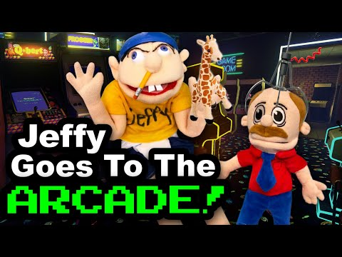 SML Movie: Jeffy Goes To The Arcade!