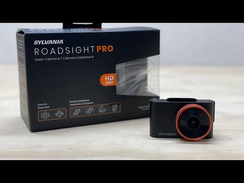 Sylvania Roadsight Pro Dash Cam Unboxing and Review