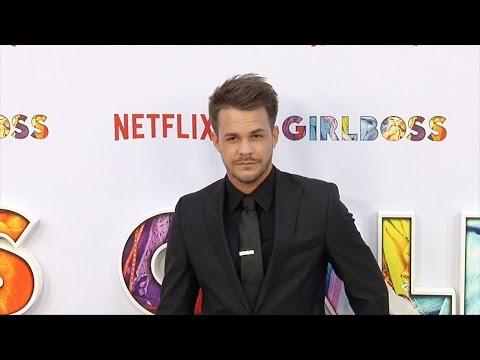 "Johnny Simmons ""Girlboss"" Los Angeles Premiere"