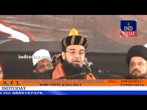 Syed Mohammed Noorani Miyan Ashrafi Al- Jeelani speech on Milad Un Nabi (SAW) Jalsa at Darussalam