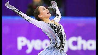 ALINA ZAGITOVA Olympics 2018 SP NBC короткая программа на Олимпиаде с переводом комментариев NBC
