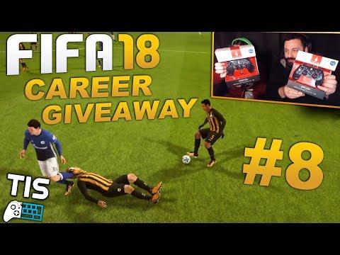 Παίζουμε FIFA 18 - Career #8 | Giveaway Spartan Gear Χειριστήρια & Ντέρμπι Κορυφής