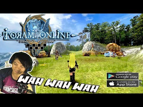 Keren Coiii !!!! RPG Toram Online (ENGLISH)  Gameplay - Android/iOS Game