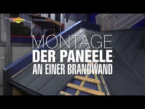 Montageanleitung für Dachpaneele mit Stehfalz - Teil 8