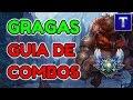 GRAGAS GUÍA DE COMBOS | ¡Full AP Gragas For The Win! | TenYasha LOL