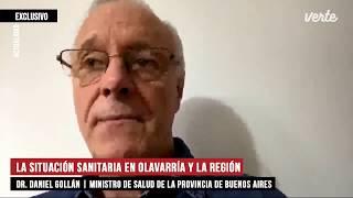 """Dr. Daniel Gollán: """"lo Recomendable Es Aplicar El Freno Y Volver Alguna Fase Para Atrás"""""""