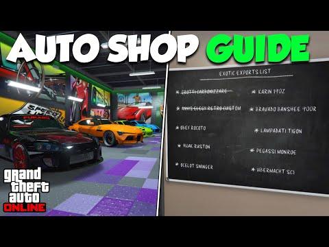GTA Online AUTO SHOP Money Guide | GTA Online Auto Shop Guide & Tips To Make MILLIONS