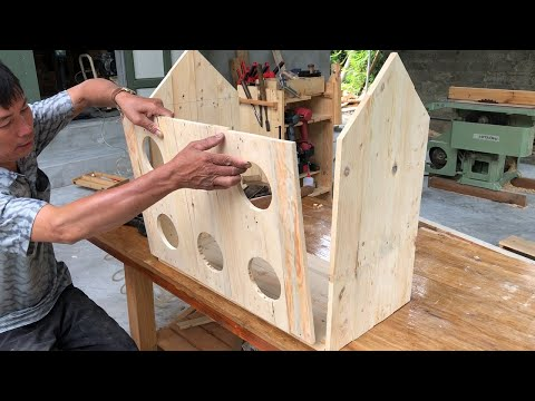 great-ideas-from-wooden-pallets-//-how-to-building-an-awesome-birdhouse-diy