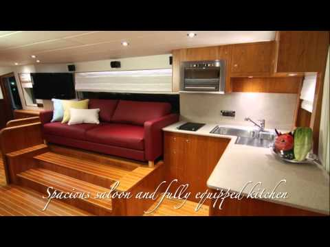 46' Solar Catamaran horizon