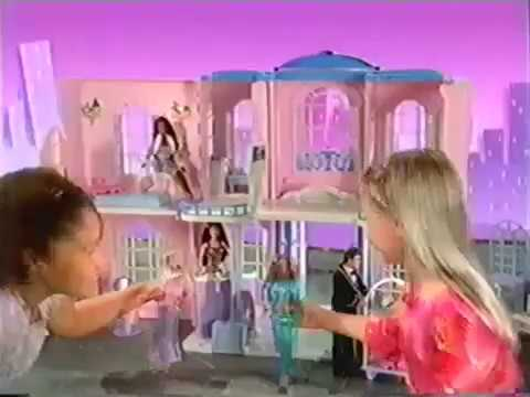 Barbie Grand Hotel Commercial 2001 V2 Youtube
