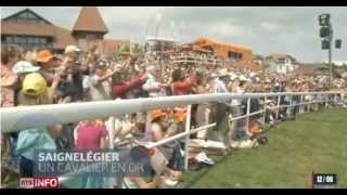 Le Marché-Concours national de chevaux de Saignelégier a rendu hommage à Steve Guerdat