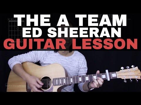 The A Team Guitar Tutorial - Ed Sheeran Guitar Lesson |Tabs + Chords + Guitar Cover|