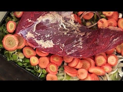 Receta: Carne al horno con papas - Morfi