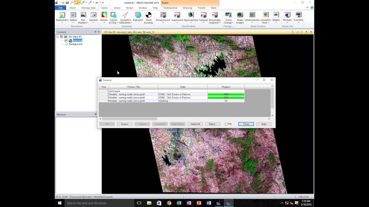 principal component in erdas imagine 2013 youtube rh youtube com