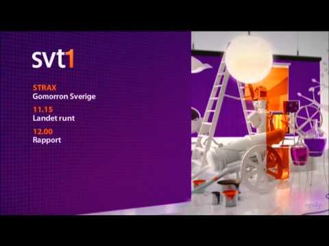 SVT1 HD Sweden Start Up 2011 April 720p