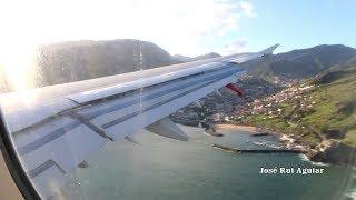 Avião TAP AIR PORTUGAL Falha Pouso no Aeroporto da Madeira Airbus A321