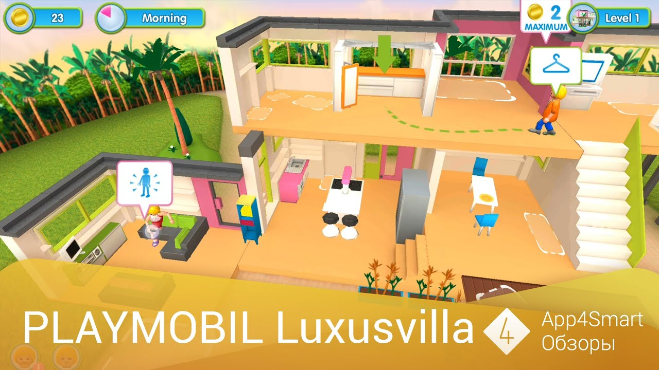 Küche Spiele Max Обзор Playmobil Luxusvilla Ios Android Youtube