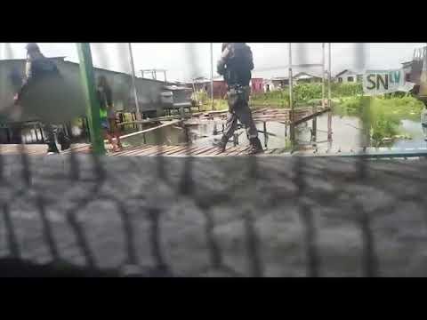 No Amapá,vídeo mostra PM dando bofetada em mulher suspeita de maltratar os filhos