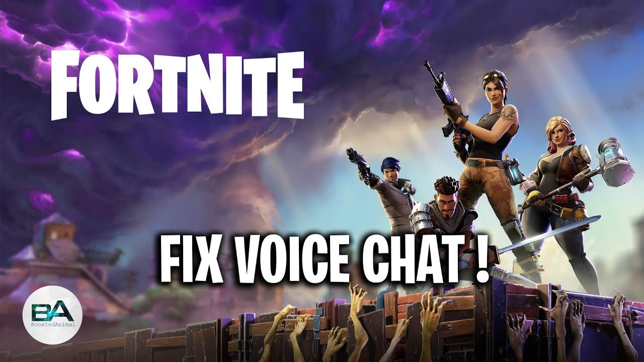 Fix Fortnite Voice Chat Voice Chat Not Working Season 7 Youtube