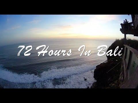72 Hours In Bali, Indonesia - EVANTURE