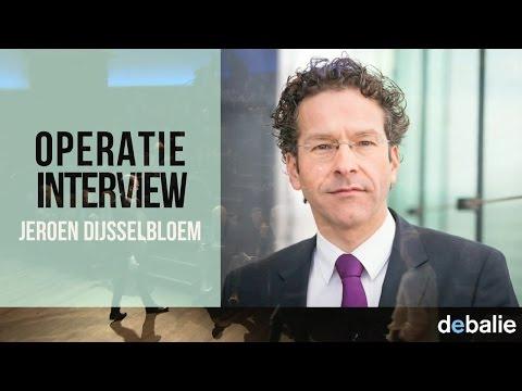 Operatie Interview: Jeroen Dijsselbloem  - Minister van Financiën (PvdA)